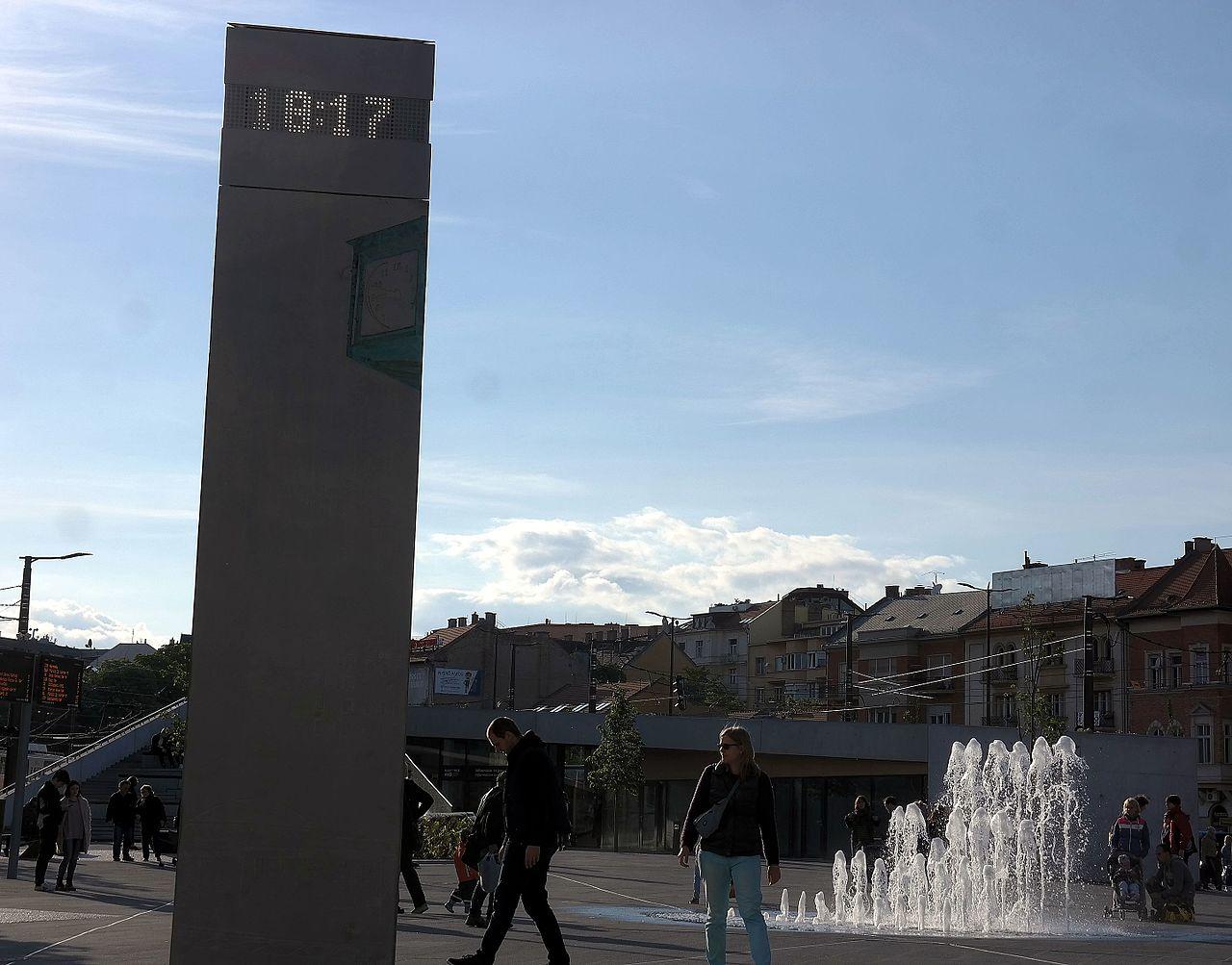pontos idő Budapest